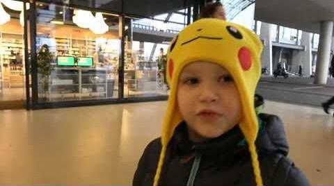 Видео ВЛОГ В Германию стоя в первом классе