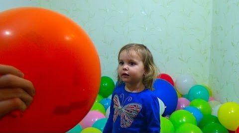 Видео Воздушные шарики с конфетти