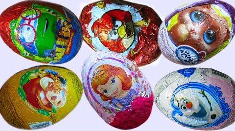 Видео Яйца с сюрпризим/ обзор игрушек