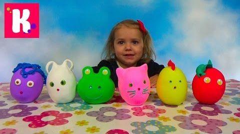 Видео Заводныне Животные сюрпризы / Обзор игрушек