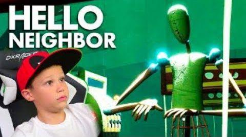 Видео Зомби-Манекены нападают в супермаркете / Привет сосед Акт 3