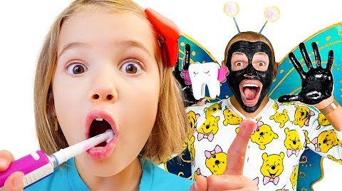 Видео Зубная фея не может найти зуб Кати